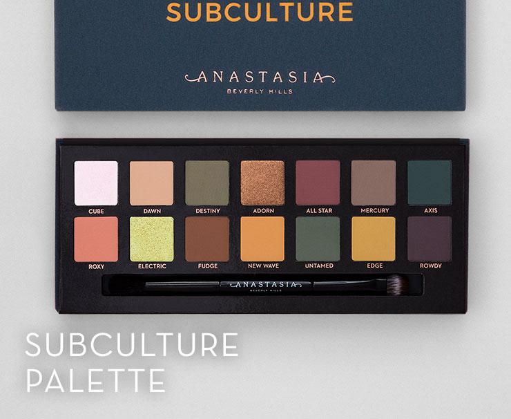Subculture Palette