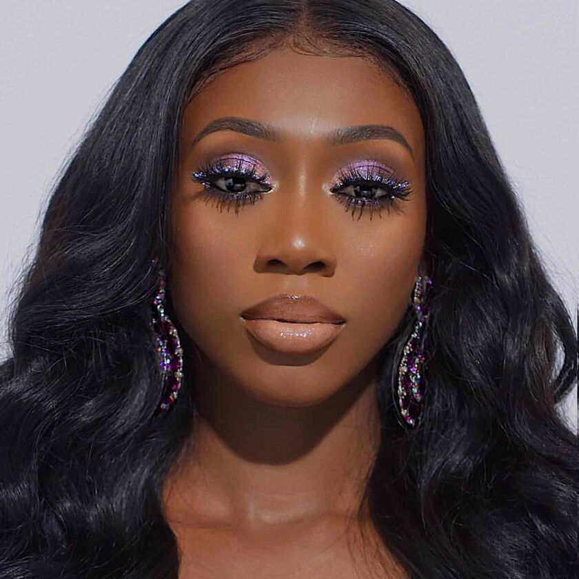 Explore the Sparkle Goddess by @vanessa_gyimah featuring Dream Glow Kit