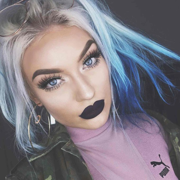 Explore the Deep Glam by @naomijon featuring Liquid Lipstick - Potionnull