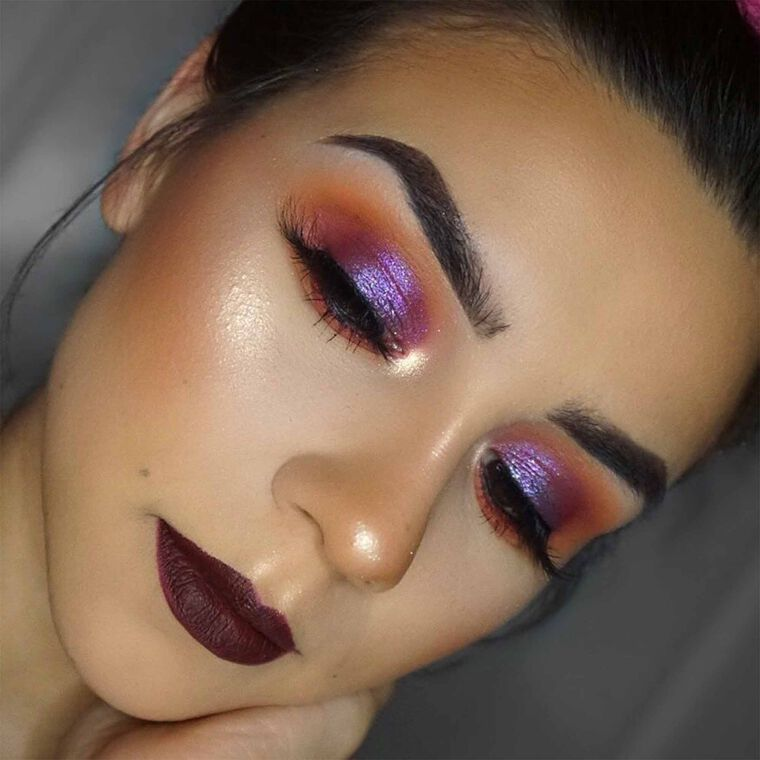 Explore the Dark Lip by @lorrainestephhh featuring Carli Bybel Palette