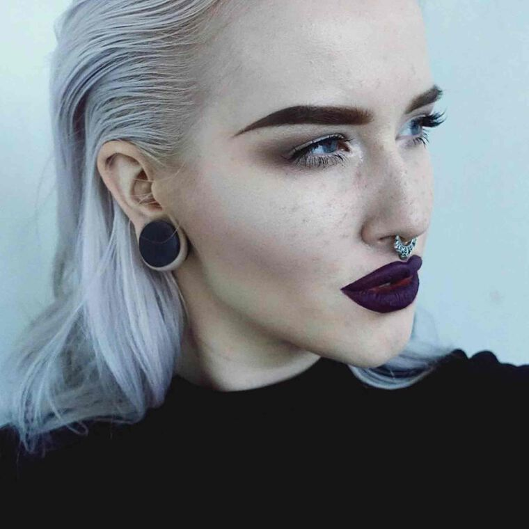 Explore the Dark Mystery by @creationsbyelina featuring Liquid Lipstick - Potion