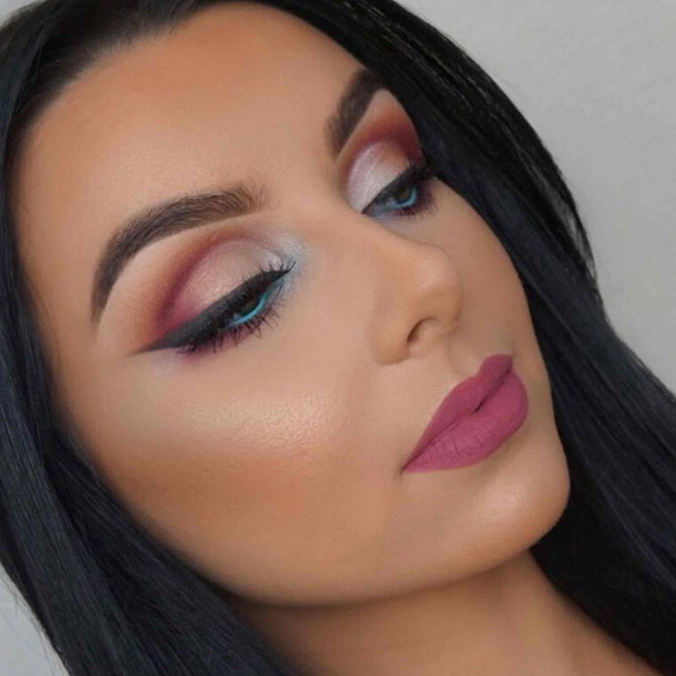 Explore the Summer Vibes by @makeupbyserenacleary featuring Liquid Lipstick - Catnip