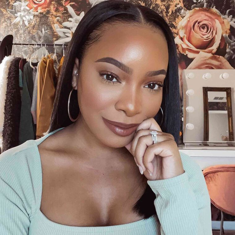 Explore the Soft & Glam by @kyramknox featuring Brow Definer - Chocolate