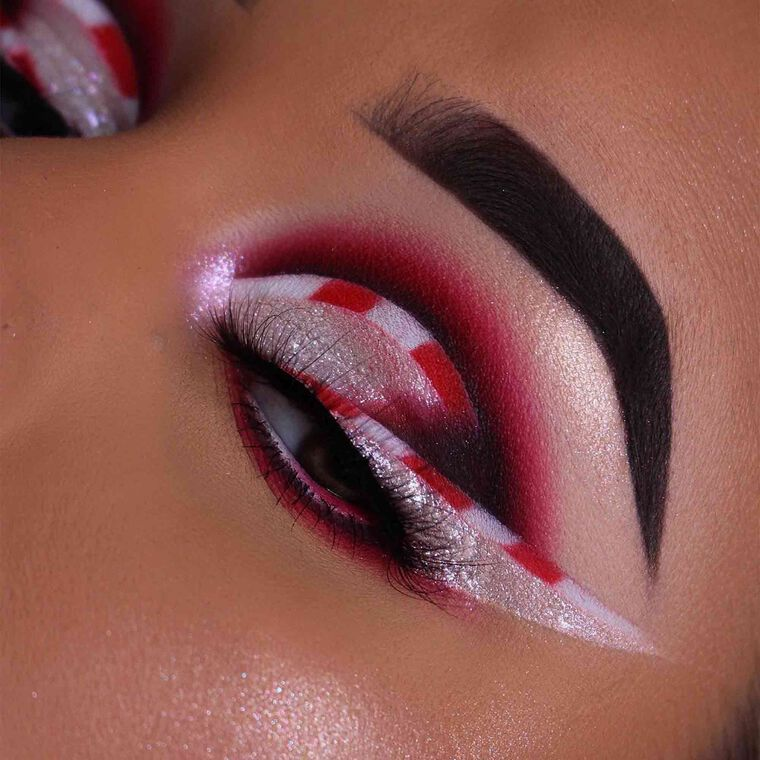 Explore the Candy Cane Queen by @renzate featuring DIPBROW® Pomade - Dark Brown