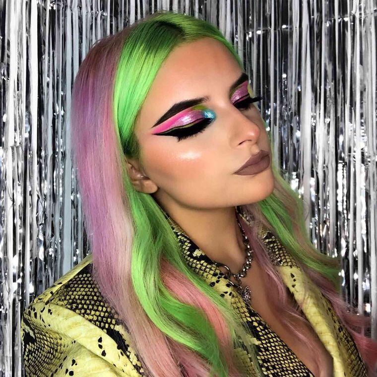 Explore the Glitz + Glam by @byellieroden featuring NORVINA® Pro Pigment Palette Vol. 2