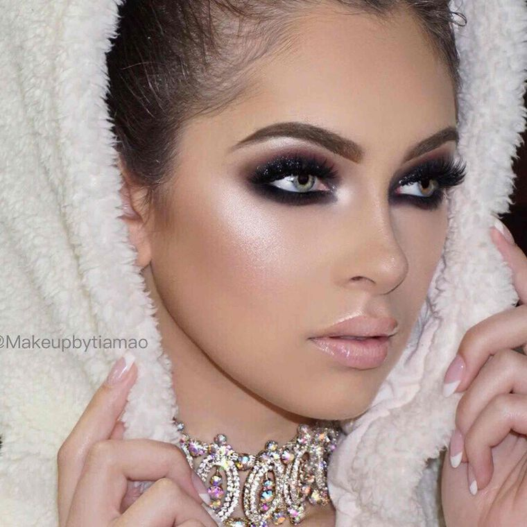 Explore the Serious Glam by @makeupbytiamao featuring DIPBROW® Pomade - Soft Brown