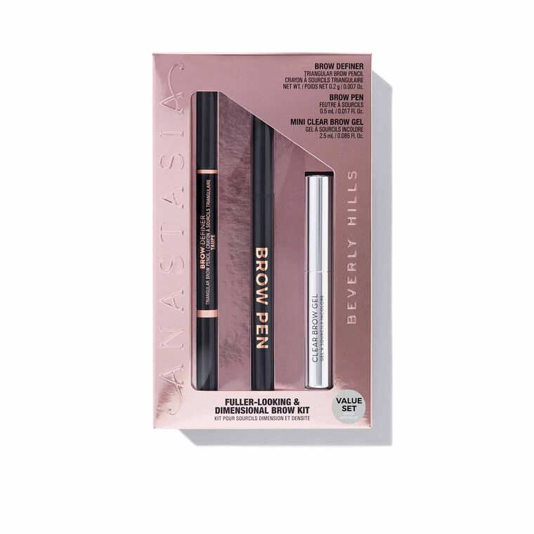 Fuller Looking + Dimensional Brows Kit - Taupe