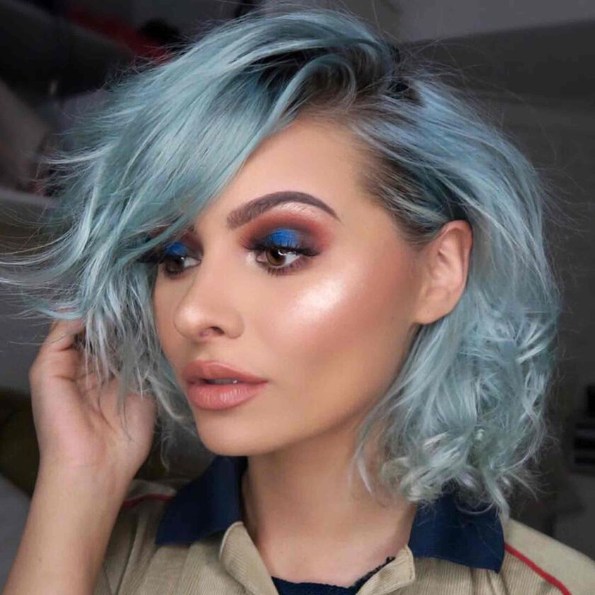 Explore the Blue Jay by @taliamarmusic featuring DIPBROW® Pomade - Soft Brown