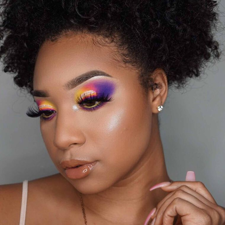 Explore the Color Wheel by @breanna_simone featuring DIPBROW® Pomade - Dark Brownnull