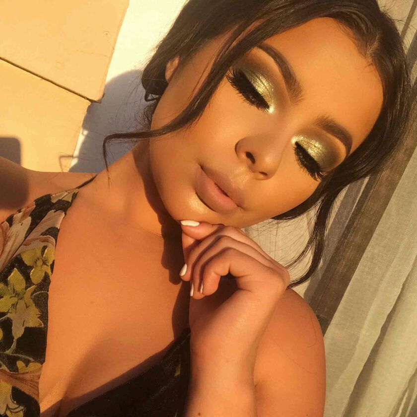 Explore the Beaming Glow by @dollhousemermaid featuring Sun Dipped Glow Kit