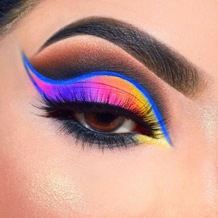 Explore the Color Pop by @beautybypol featuring DIPBROW® Pomade - Ebonynull