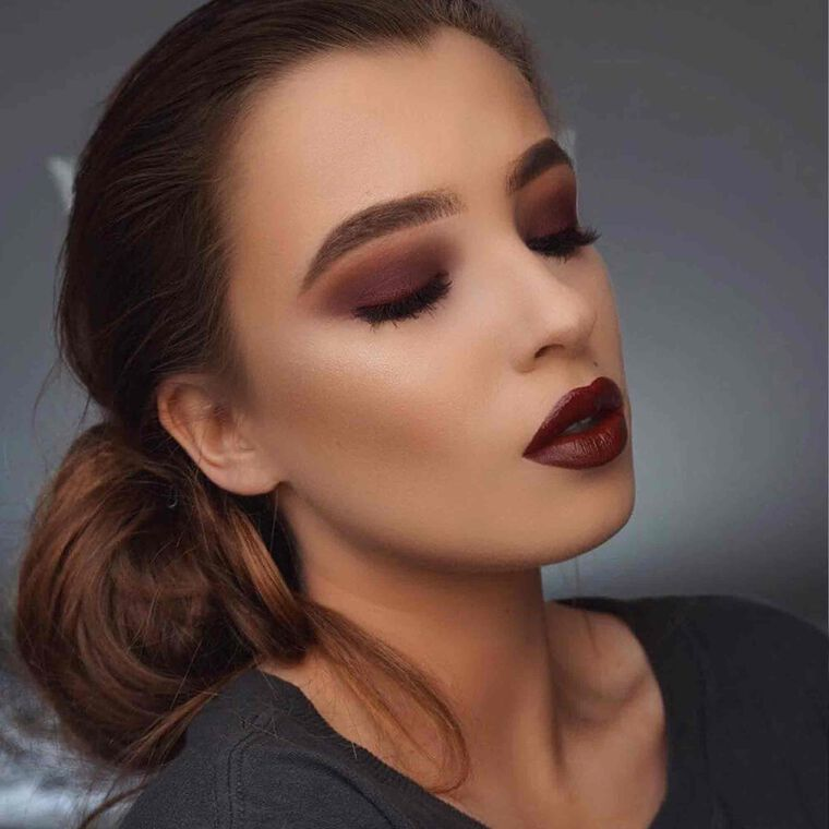 Explore the Smoky Mama by @withoutthelies featuring Liquid Lipstick - Heathers
