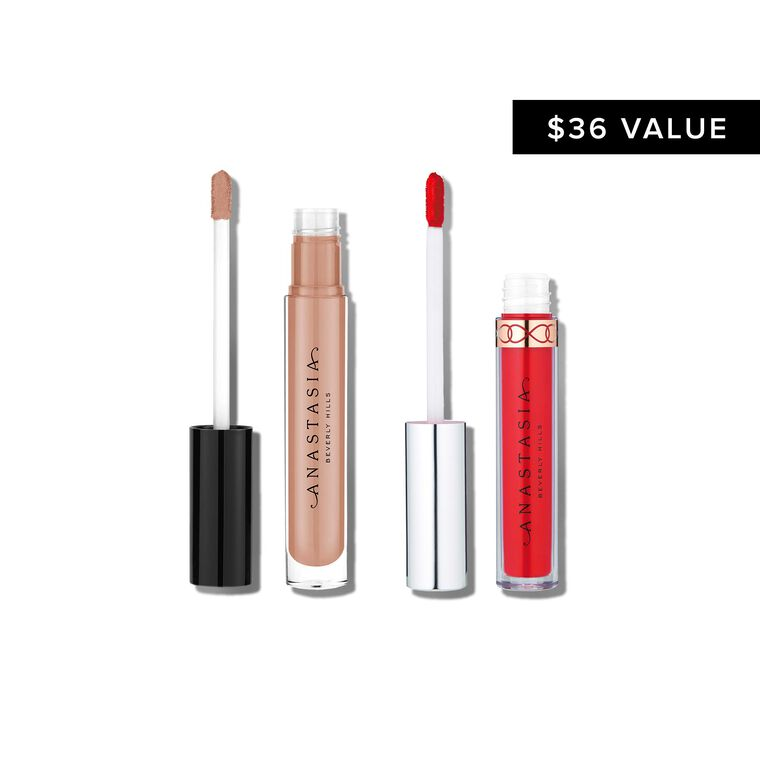 Liquid Lipstick + Lip Gloss