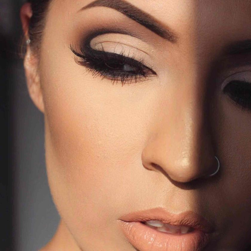 Explore the Nude Glam by @starrlygladue featuring Stick Foundation - Mink
