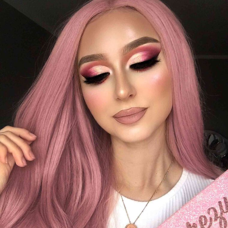 Explore the Baby Pink by @annaxkrajewska featuring DIPBROW® Pomade - Blonde