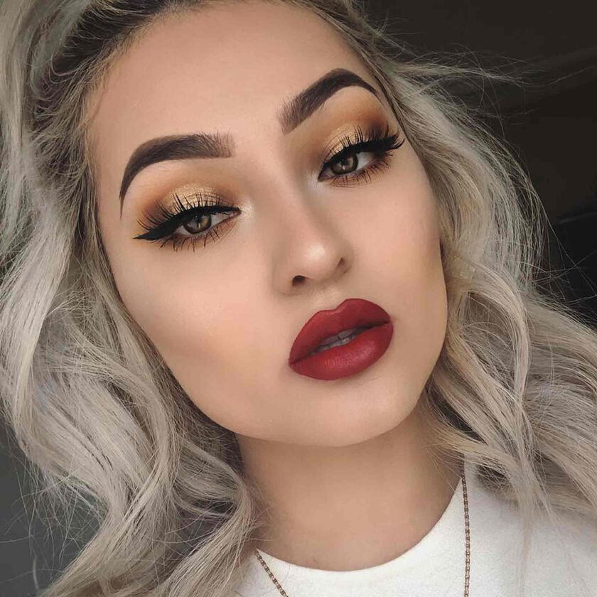 Explore the Classic Halo by @baedyxo featuring Modern Renaissance Eye Shadow Palette