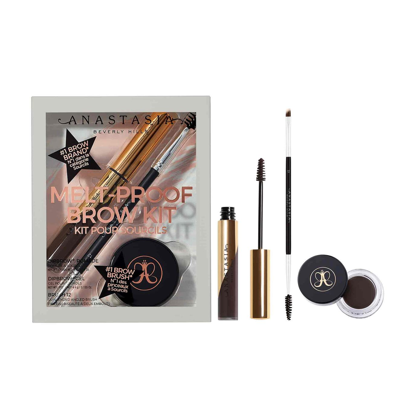 Melt-Proof Brow Kit - Ebony