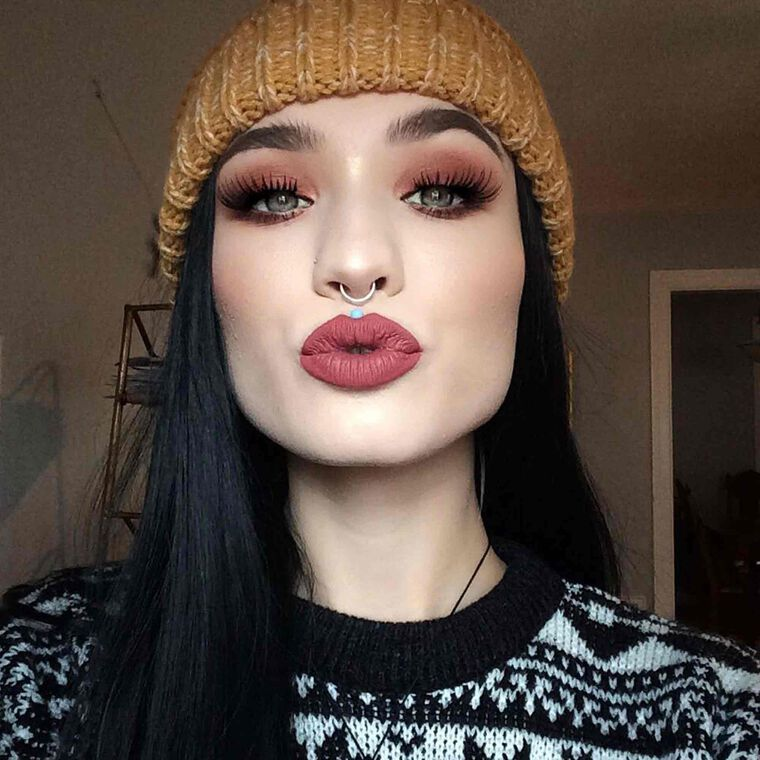 Explore the Fall Fabulous by @sh0ok featuring Liquid Lipstick - Kathryn