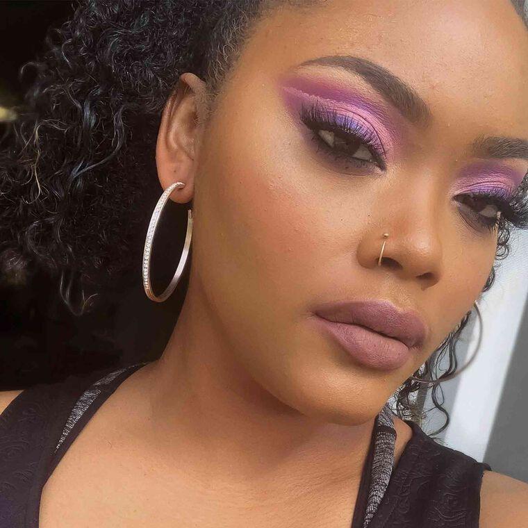 Explore the Purple Lengthen by @makeupbyjanaya featuring Brow Wiz® - Caramel
