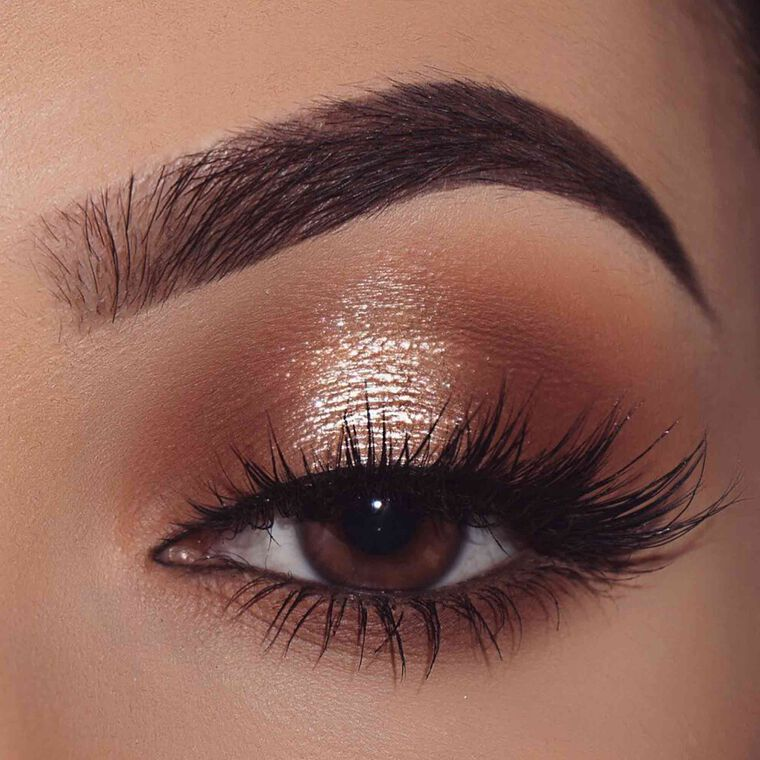Explore the Brown Shimmer by @nasiabelli featuring DIPBROW® Pomade - Dark Brown