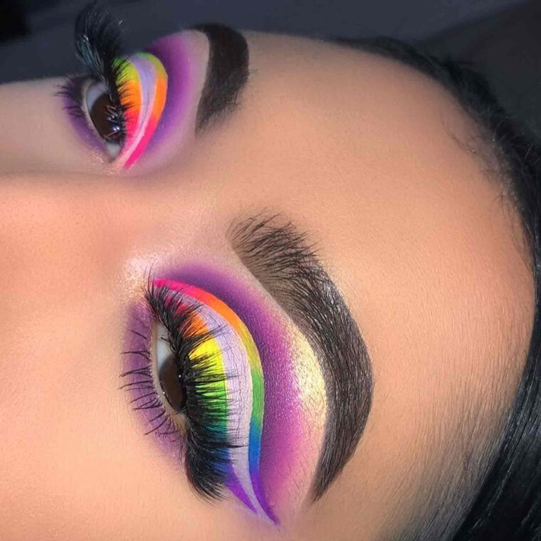 Explore the ColorFULL Eyes by @rot.ten featuring Brow Wiz® - Ebony