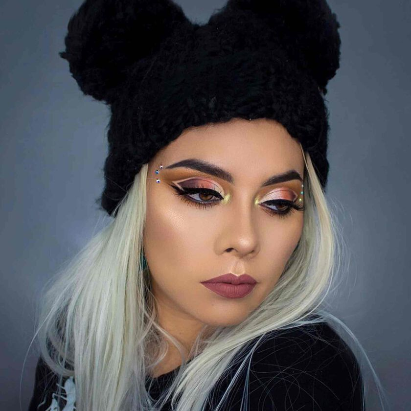 Explore the Eye Play by @bysandyhirales featuring Subculture Eye Shadow Palette