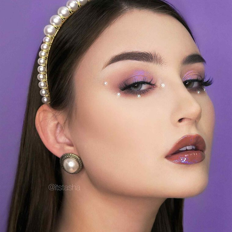 Explore the No Grit, No Pearl by @itstasha featuring Brow Wiz® - Medium Brown
