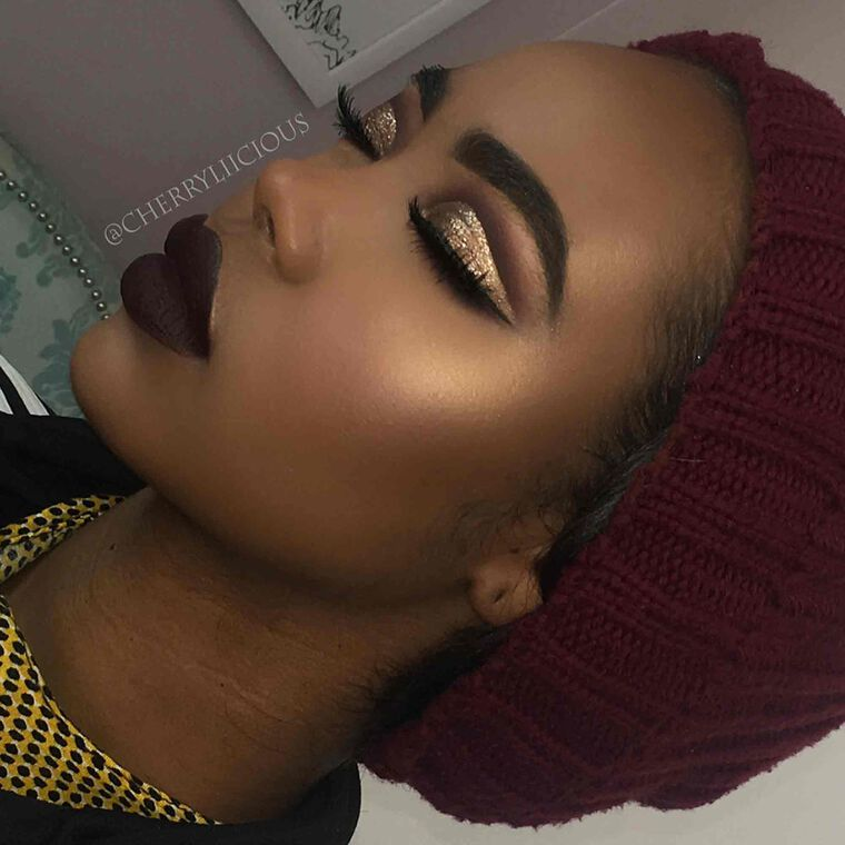 Explore the Holiday Cut Crease by @cherryliicious featuring Liquid Lipstick - Heathersnull