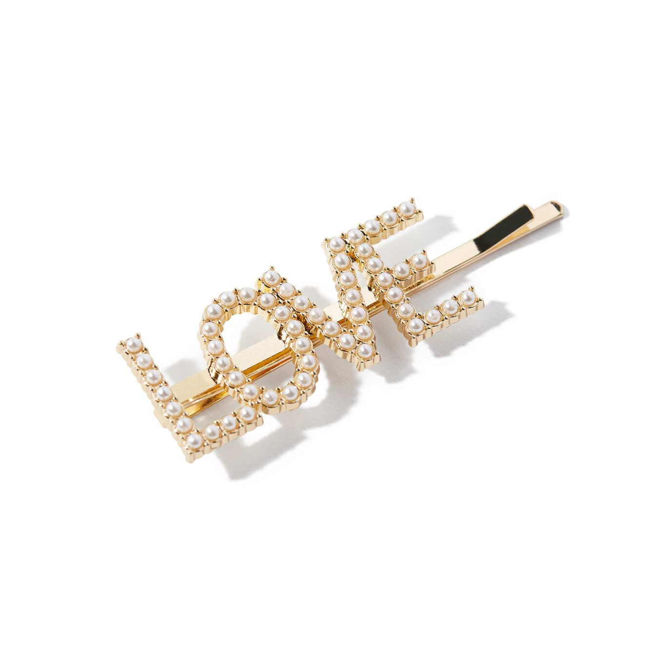 ABH Glam Hairpins - Gold Pearl Love