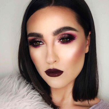 Explore the Dreaming in Berry by @yourstylishself featuring Brow Powder Duo - Ebonynull