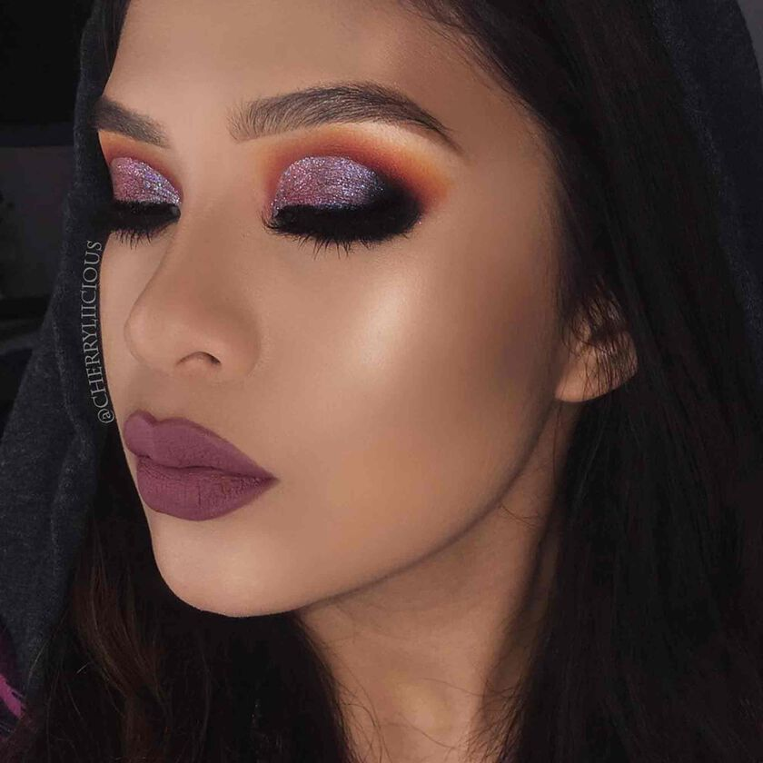 Explore the Glitz n Glam by @cherryliicious featuring Brow Wiz® - Soft Brown
