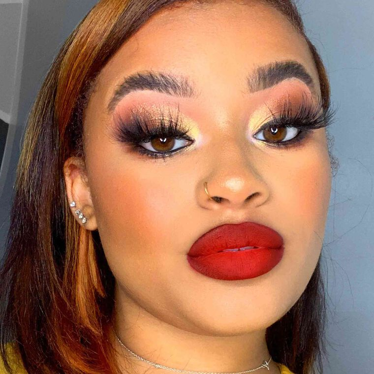 Explore the Golden Eye by @RAGGEDYROYAL featuring Brow Wiz® - Granite