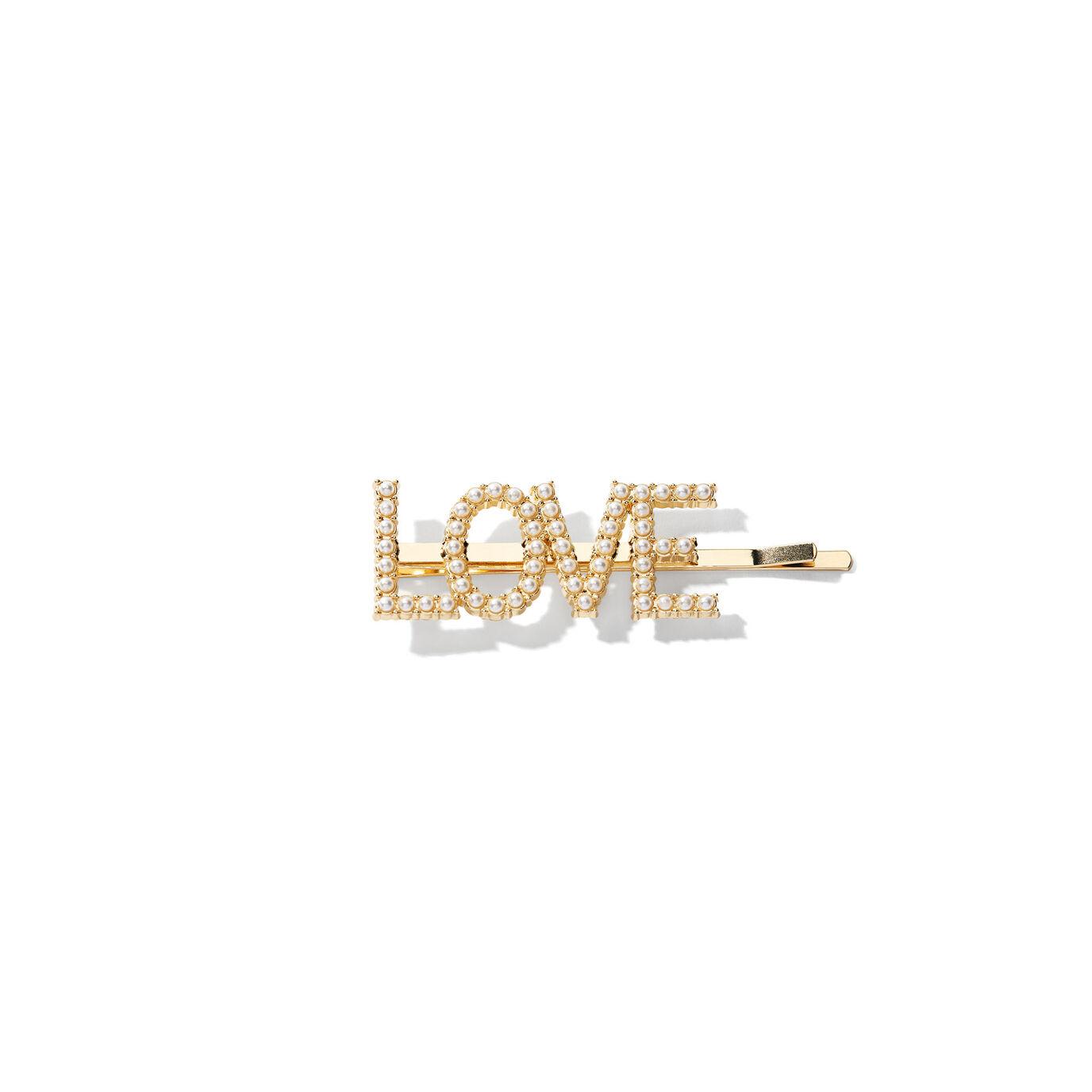 ABH Glam Hairpins - Gold Pearl Love