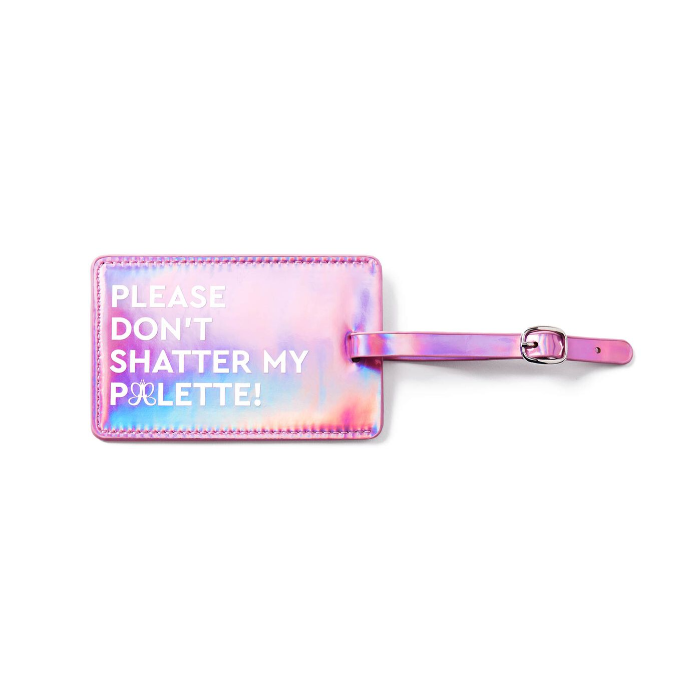ABH Luggage Tag - Metallic Pearly Pink