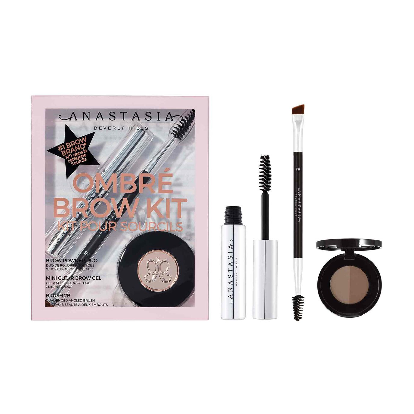 Ombré Brow Kit  - Soft Brown