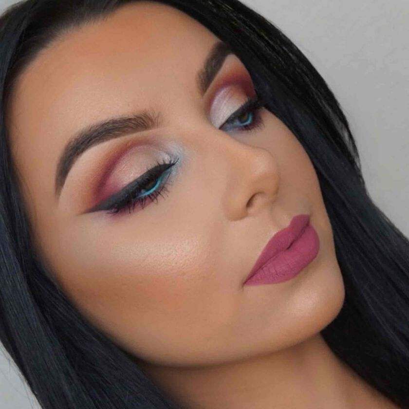 Explore the Summer Vibes by @makeupbyserenacleary featuring Brow Powder Duo - Medium Brown