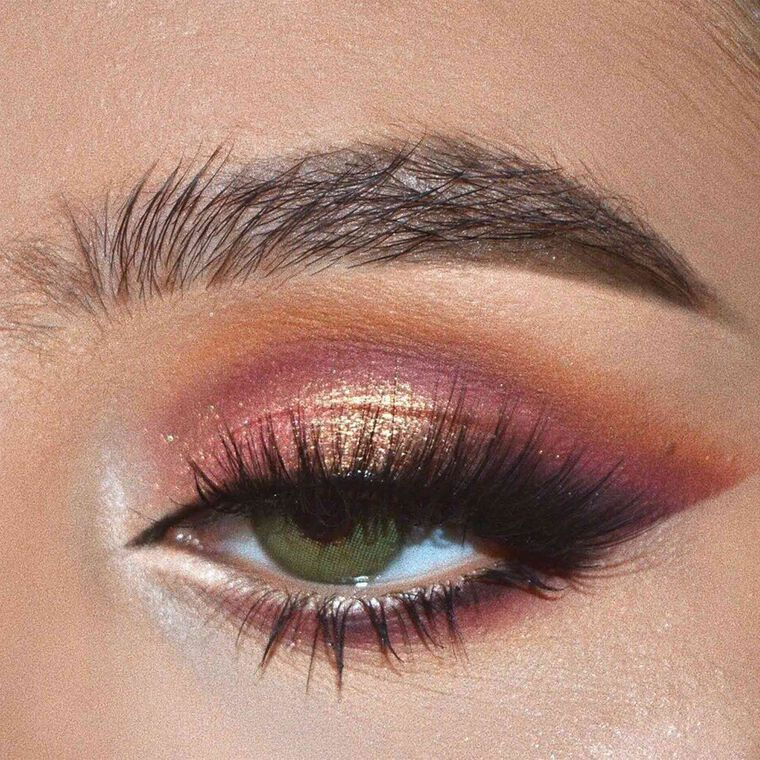 Explore the Penny for Your Thoughts by @merrbz featuring NORVINA® Pro Pigment Palette Vol. 1