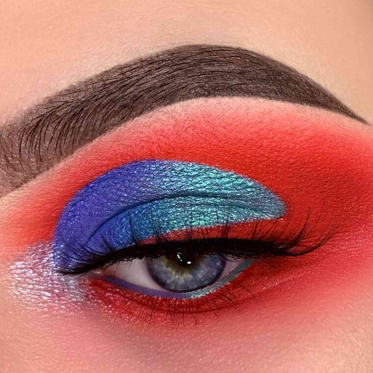 Explore the Supergirl by @glambylaurenx featuring NORVINA® Pro Pigment Palette Vol. 1