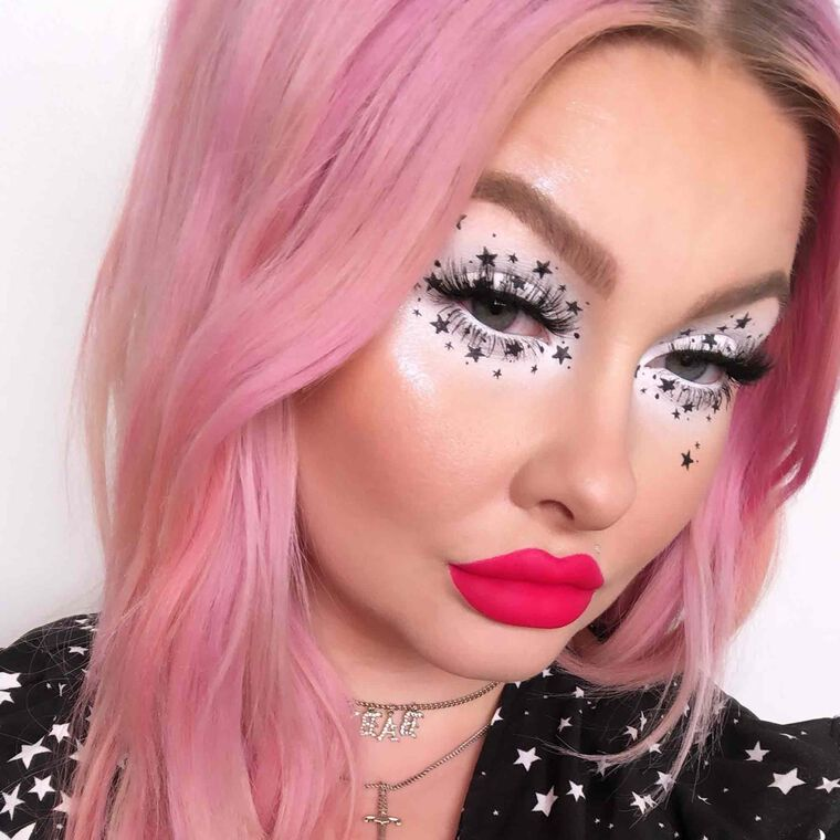 Explore the Star Girl by @alyssamarieartistry featuring False Lashes - Lengthy