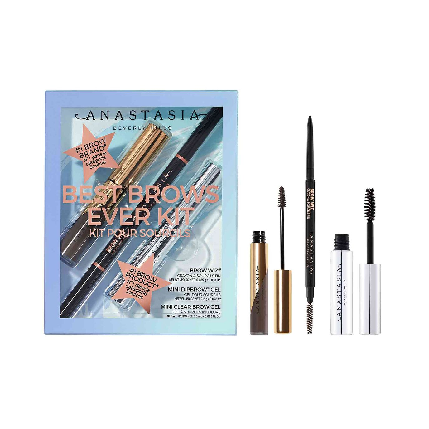 Best Brows Ever Kit - Medium Brown