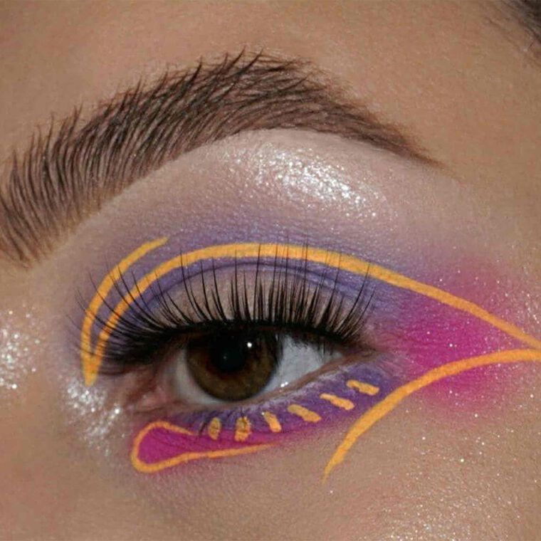 Explore the Color Abstract by @shannonvartistry featuring DIPBROW® Pomade - Medium Brown