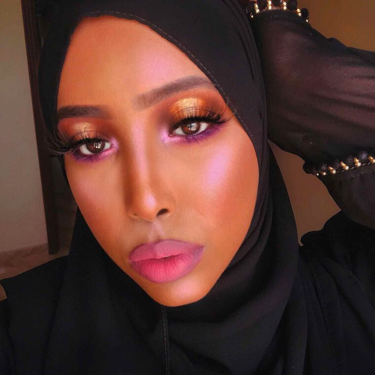 Explore the Sunset Look by @Thenubiandoll1 featuring Jackie Aina Palettenull