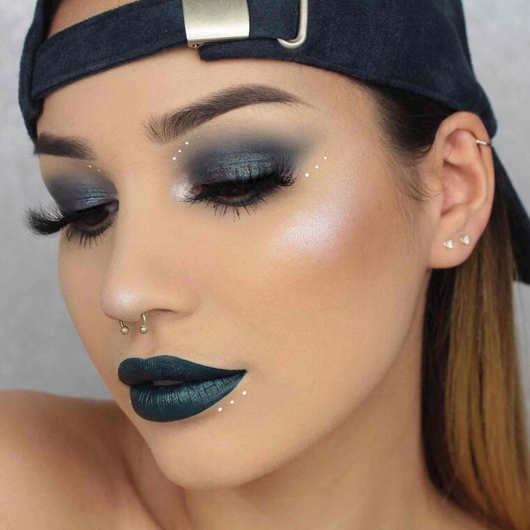 Explore the Midnight Dreams by @byjeannine featuring Liquid Lipstick - Requiem