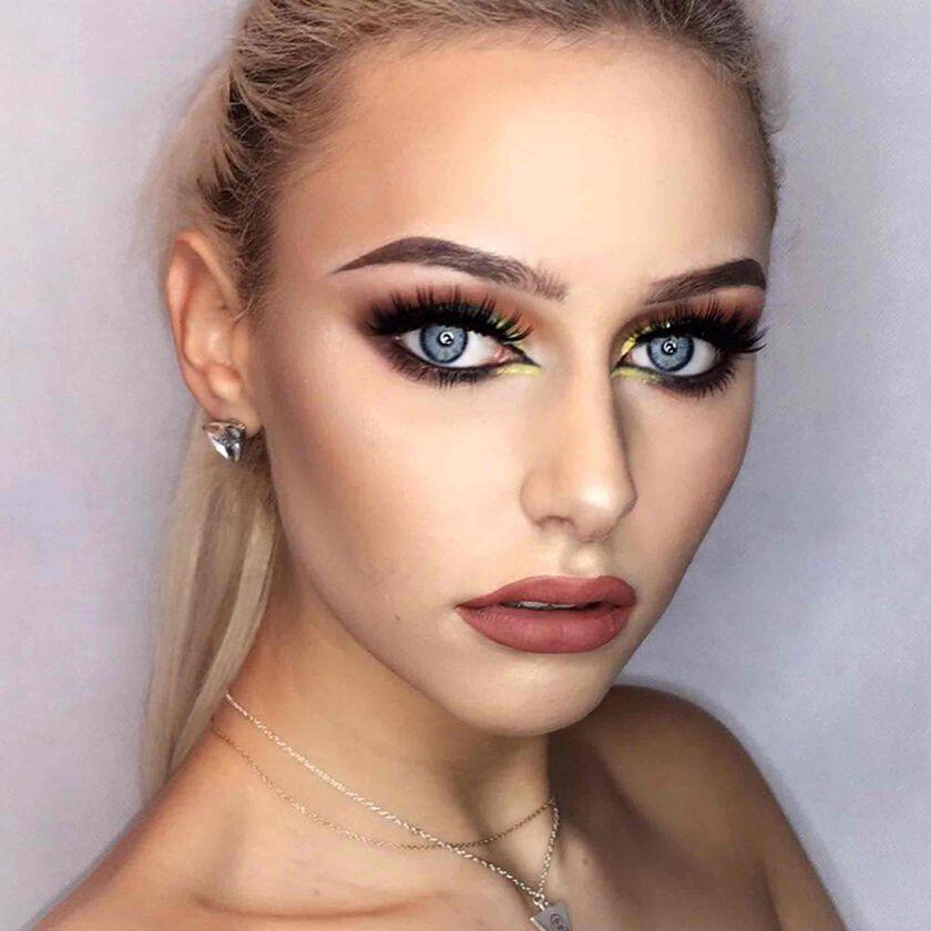 Explore the Striking Elegance by @amelia.szczepaniak featuring Prism Eye Shadow Palette