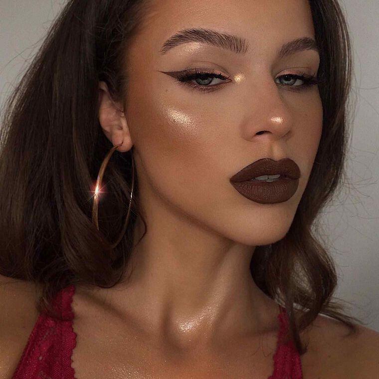Explore the Autumn Babe by @laura_kuruc featuring Liquid Lipstick - Malt