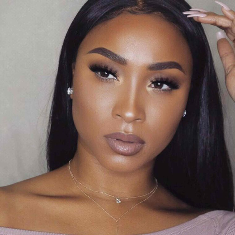 Explore the Simply Glam by @glamz_junkie featuring DIPBROW® Pomade - Dark Brown