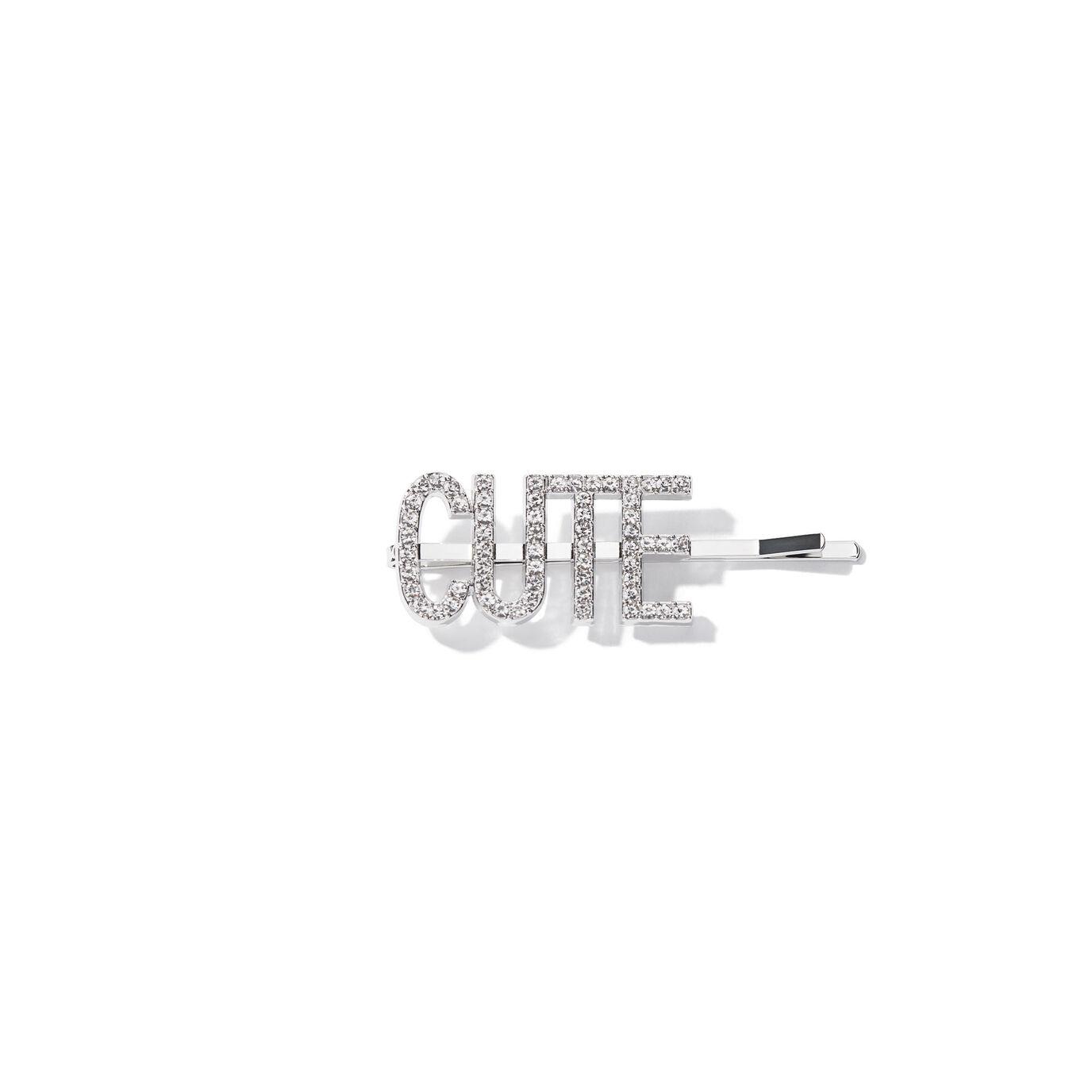 ABH Glam Hairpins - Silver Rhinestone Cute