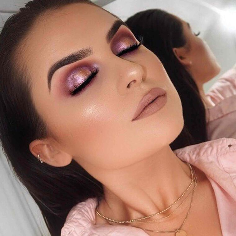 Explore the Gemstone by @aideenkatemakeup featuring DIPBROW® Pomade - Ash Brown