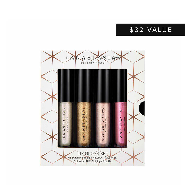 Mini Lip Gloss 4-Piece Set