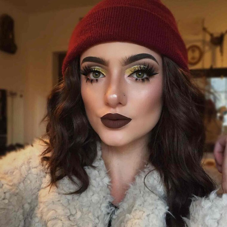 Explore the Full On Glam by @facesbyaves featuring Liquid Lipstick - Currant